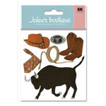 EK Success - Jolee's Boutique - 3 Dimensional Stickers - Rodeo