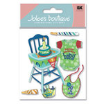 EK Success - Jolee's Boutique - Dimensional Stickers - Boy's 1st Birthday