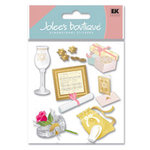 EK Success - Jolee's Boutique - Dimensional Stickers - Jewish Wedding, CLEARANCE