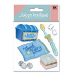 EK Success - Jolee's Boutique - Dimensional Stickers - Baby's 1st Tooth