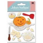 EK Success - Jolee's Boutique - Halloween - Dimensional Stickers - Pumpkin Carving