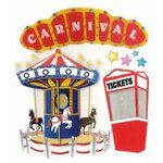 EK Success - Jolee's Boutique - 3 Dimensional Stickers - Carnival