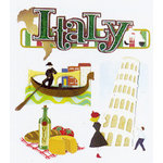 EK Success - Jolee's Boutique - Dimensional Stickers - Italy