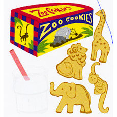 EK Success - Jolee's Boutique - Dimensional Stickers - Animal Crackers