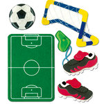 EK Success - Jolee's Boutique - 3 Dimensional Stickers - Kids Soccer