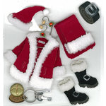 EK Success - Jolee's Boutique - Christmas - 3 Dimensional Stickers - Santas Valet