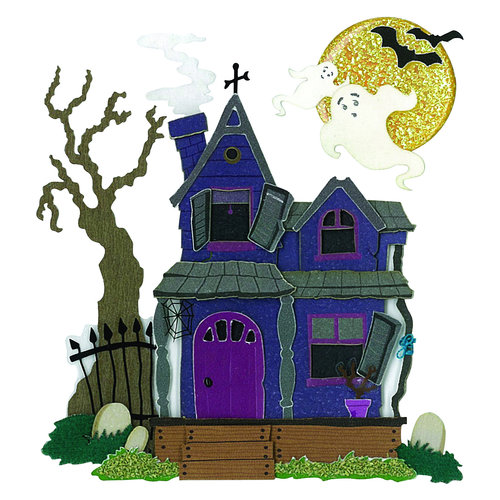 EK Success - Jolee's Boutique - 3 Dimensional Stickers - Haunted House