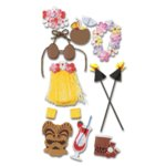 Jolee's Boutique Le Grande  Stickers - Luau