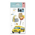 EK Success - Jolee's Boutique - 3 Dimensional Stickers - Field Trip, CLEARANCE