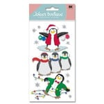 EK Success - Jolee's Boutique - Christmas - Dimensional Stickers - Penguins, CLEARANCE