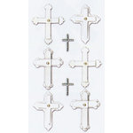 EK Success - Jolee's Le Grande - Dimensional Stickers - Large Crosses