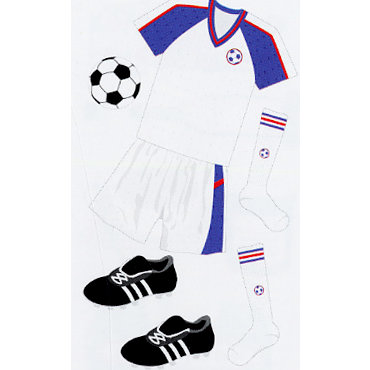 EK Success - Jolee's Le Grande - Dimensional Stickers - Soccer