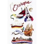 EK Success - Jolee's Le Grande - Dimensional Stickers - Europe