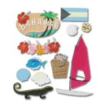 Jolee's Boutique Destination Stickers - Bahamas