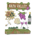 Jolee's Boutique Destination Stickers - Napa Valley