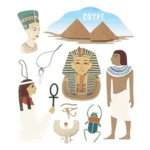 Jolee's Boutique Destination Stickers - Egypt, CLEARANCE