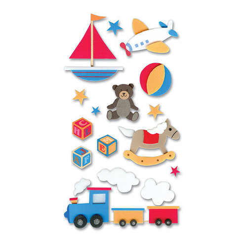 EK Success - Jolee's Foam Stickers - Baby Toys