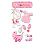 EK Success - Jolee's Foam Stickers - Baby Girl