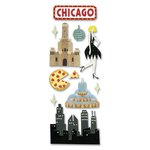 EK Success - Touch of Jolee's Dimensional Stickers  - Chicago