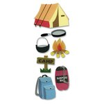 EK Success - Touch of Jolee's Dimensional Stickers  - Camping