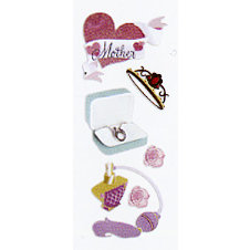 EK Success - Touch of Jolee's - Dimensional Stickers - Mothers Day, CLEARANCE