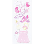 EK Success - Touch of Jolee's - Dimensional Stickers - Baby Girl