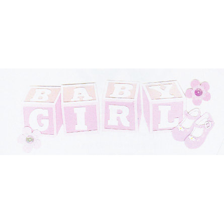EK Success - Jolee's - Dimensional Title Stickers - Baby Girl