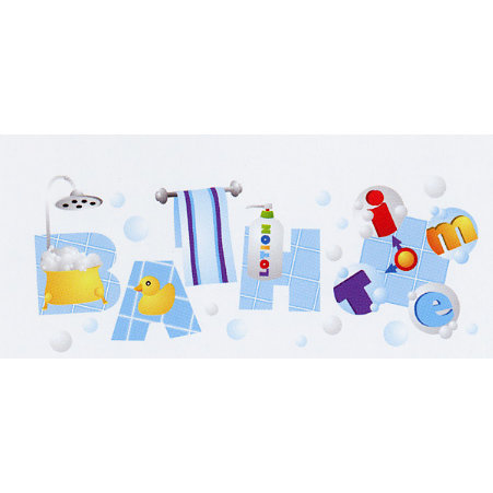 EK Success - Jolee's - Dimensional Title Stickers - Bath Time