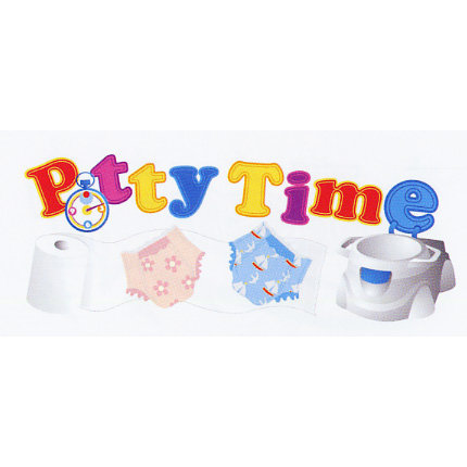 EK Success - Jolee's - Dimensional Title Stickers - Potty Time