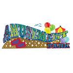 EK Success - Jolee's Boutique - 3 Dimensional Title Stickers - Amusement Park