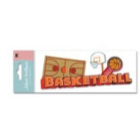 EK Success - Jolee's Boutique - 3 Dimensional Title Stickers - Basketball, CLEARANCE