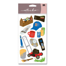 EK Success - Sticko Classic Stickers - Awesome Dad - Father, CLEARANCE