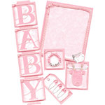 E-Kit Elements (Digital Scrapbooking) - Baby Girl 1
