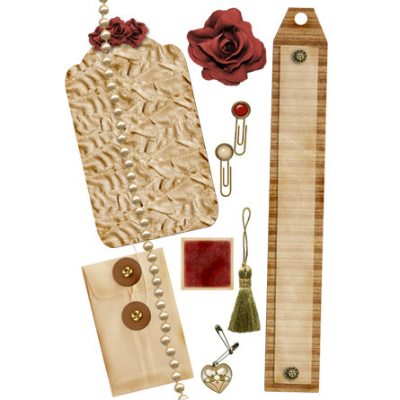 E-Kit Elements (Digital Scrapbooking) - 20's Chic 2