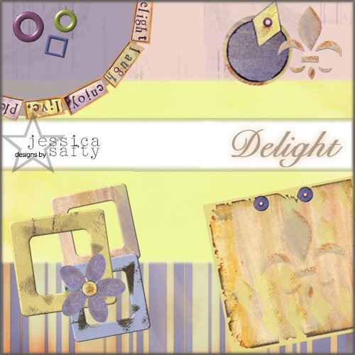 E-Kit Elements (Digital Scrapbooking) - Delight Elements 2