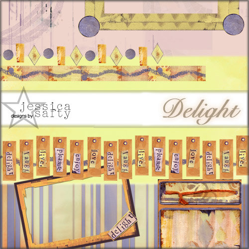 E-Kit Elements (Digital Scrapbooking) - Delight Elements 3