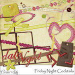 Digital Element Kit - Friday Night Cocktails