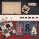 E-Kit Elements (Digital Scrapbooking) - Home of the Brave 4