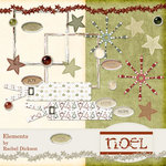 Digital Element Kit - Noel