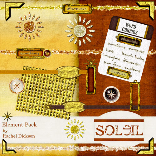 Digital Element Kit - Soleil