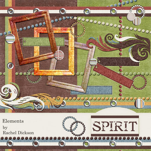 Digital Element Pack - Spirit