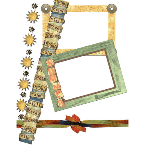 E-Kit Elements (Digital Scrapbooking) - Sunset Elements 3