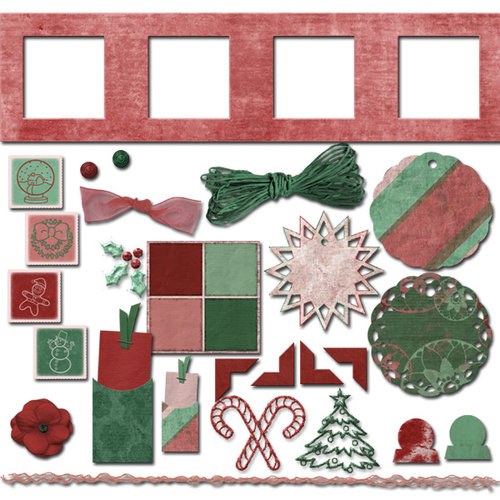 Digital Element Kit - Winter Jubilee