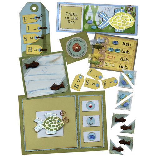 E-Kit Elements (Digital Scrapbooking) - One Fish Two Fish