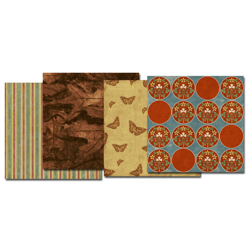 E-Kit Papers (Digital Scrapbooking) - Autumn Leaves 2