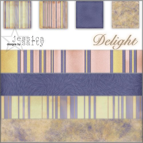 E-Kit Papers (Digital Scrapbooking) - Delight 2