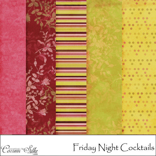 E-Paper Kit - Friday Night Cocktails 2