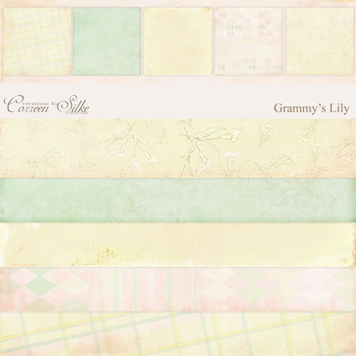E-Paper Kit - Grammy's Lily 1