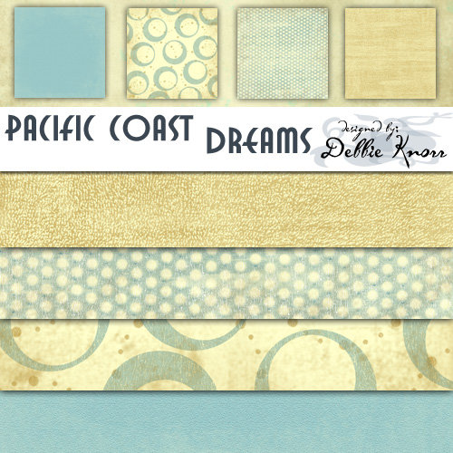 E-Paper Kit - Pacific Coast Dreams 1