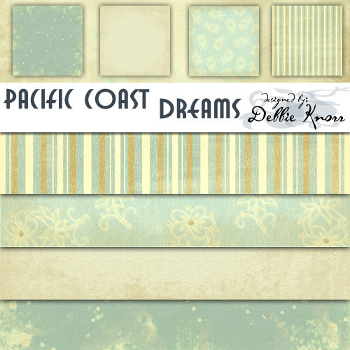 E-Paper Kit - Pacific Coast Dreams 3